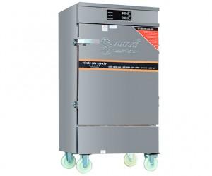 Tủ nấu cơm điện 8 khay có bảng điều khiển