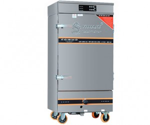Tủ cơm ga điện 6 khay có bảng điều khiển