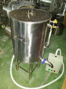 Nồi nấu đậu bằng điện 70L